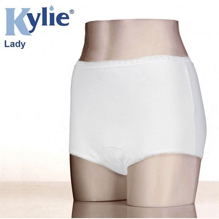 kylie lady incontinence pants.