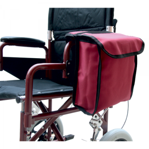 Wheelchair side sack bag