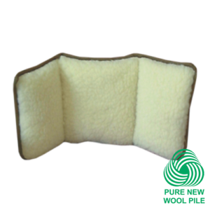 Back support cushion.