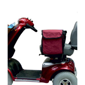 Mobility scooter side sack.