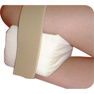Knee support cushion.
