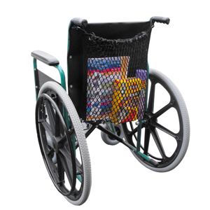 Wheelchair net bag.