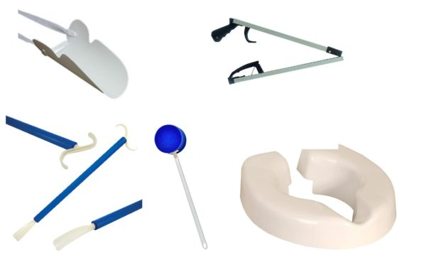 Hip replacement recovery kit