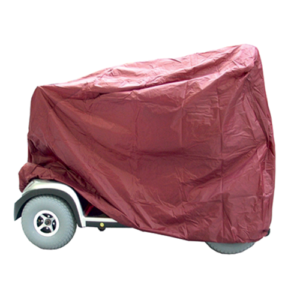 Mobility scooter rain cover.