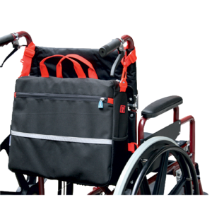 Multi purpose wheelchair Bag.